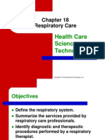 Chapter 18 Respiratory Care