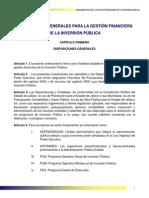 5.Lineamientos Para La Gestion Financiera de La Obra Publica Del Estado de Veracruz de Ignacio de La Llave