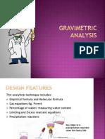 Gravimetric Analysis Ppt Chem
