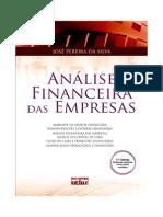 LIVRO Análise Financeira Das Empresas - José Pereira Da Silva