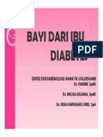 Mk End Slide Bayi Dari Ibu Diabetes