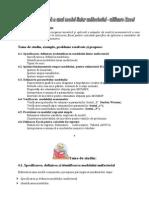 Analiza Econometrica a Unui Model Liniar_Din M. A