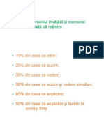 Studiile În Domeniul Învățării Și Memoriei