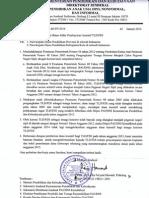 Surat Dirjen PAUD NI 2014