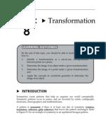Topic 8 Transformation