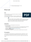 Price List - Conditions - SAP Library