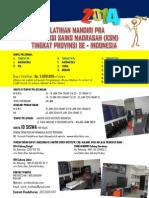 Brosur Pelatihan Ksm Provinsi 2014