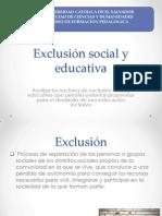 exclusin social y educativa