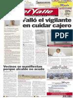 El Valle  14 de junio 2014