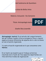 El Arte Secreto Del Actor - Antropología Teatral