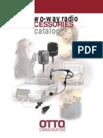 Two-Way Radio Accessories Catalog