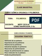 Clase Magistral Polimeros