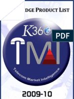 TL Market Intel - Partial Product List