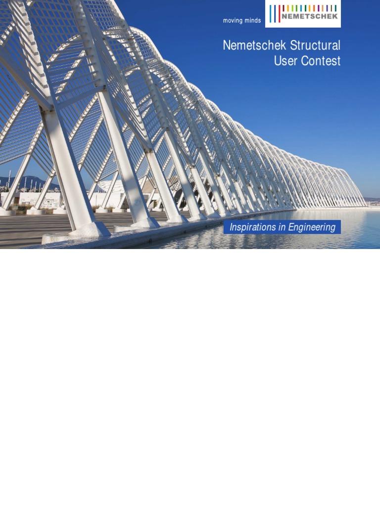Insprirations In Engineering Nemetschek Structural Engineer
