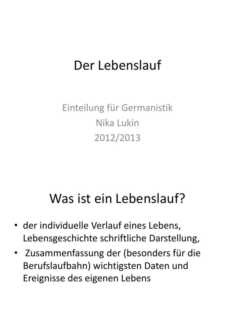 Tolle Schriftliche Lebensläufe Galerie - Beispielzusammenfassung ...