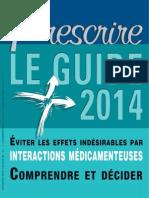 Guide Interactions Médicamenteuses Edition 2014.pdf