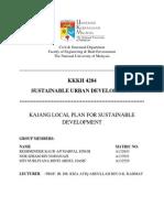Kajang Local Plan for Sustainable Development