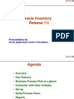 Inventory Presentation 11i