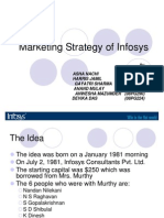 Marketing Strategy of Infosys