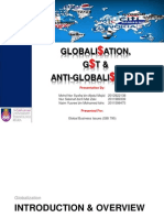 Anti Globalization Presentations