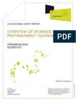 Overview of Biomass Preatreatment