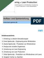 1. Aufbau- Und Spielanleitung Lean Engineering Und Lean Production