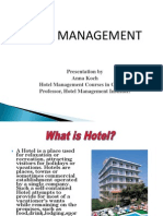 Hotel ManHotel Management Courses in Chennaiagement