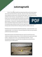 Letusan Freatomagmatik Adalah Letusan Gunung Berapi Didorong Oleh Interaksi Langsung Antara Magma Dan Badan Eksternal Air Seperti Laut
