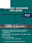 Bail-out Decision for Bank