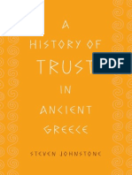 Steven Johnstone (2011) - A History of Trust in Ancient Greece
