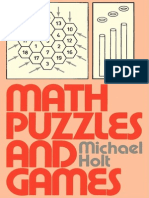 Math Puzzles and Games