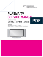 42PX4D Service Manual