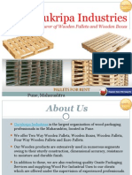 Manufacturer of Wooden Pallets- Gurukripa Industries