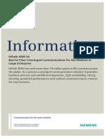 HiPath 4000 V6, Data Sheet, Issue 1