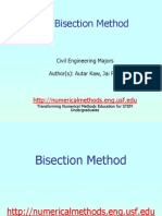 Mtl Civ Nle Ppt Bisection
