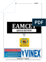 Eamcet Quick Review2