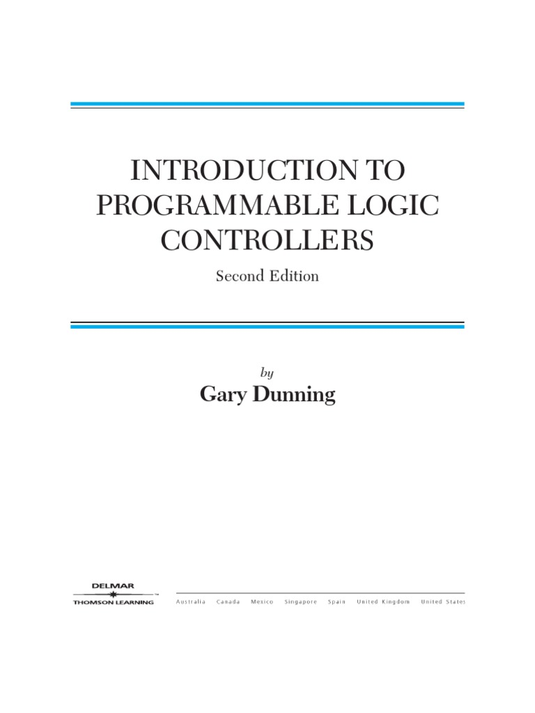 programmable logic controllers Programmable logic controllers introduction to plcs electrical & computer engineering dr d j jackson lecture 1-2 outline • introduction.