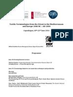 Programme Textile Terminology 2014