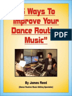 5 Ways to Improve Your Dance Routine Music by James Reed