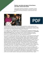Solennità Maria Ausiliatrice Una Festa Nel Segno Di Don Bosco Presiede Mons Enrico Dal Covolo