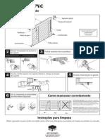 Manual Persiana Pvc