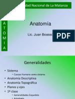 1º Clase Anatomía