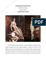 Directoire and Empire Period Fashion