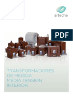 Transformadores de Medida Media Tension Interior