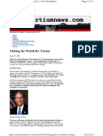Consortiumnews Com 2013-08-21 Making the World the Enemy