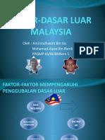 Dasar-Dasar Luar Malaysia