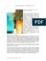 Antisubmarine Weapons State Art
