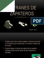 Refranes de Zapateros