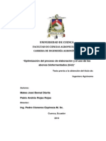 ABONO Optimización Del Proceso de Elaboración y El Uso de Los Abonos Biofermentados (BIOL) TESIS Por M. Bernal Dávila y P. Rojas Rojas de Unv. de CUENCA ECUADOR
