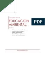 EDUCACION AMBIENTAL.